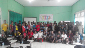 training leadership anak binaan wha merauke-papua
