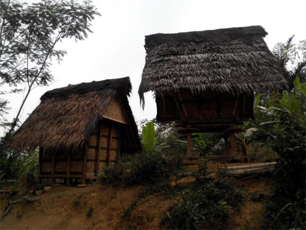lumbung penyimpan padi