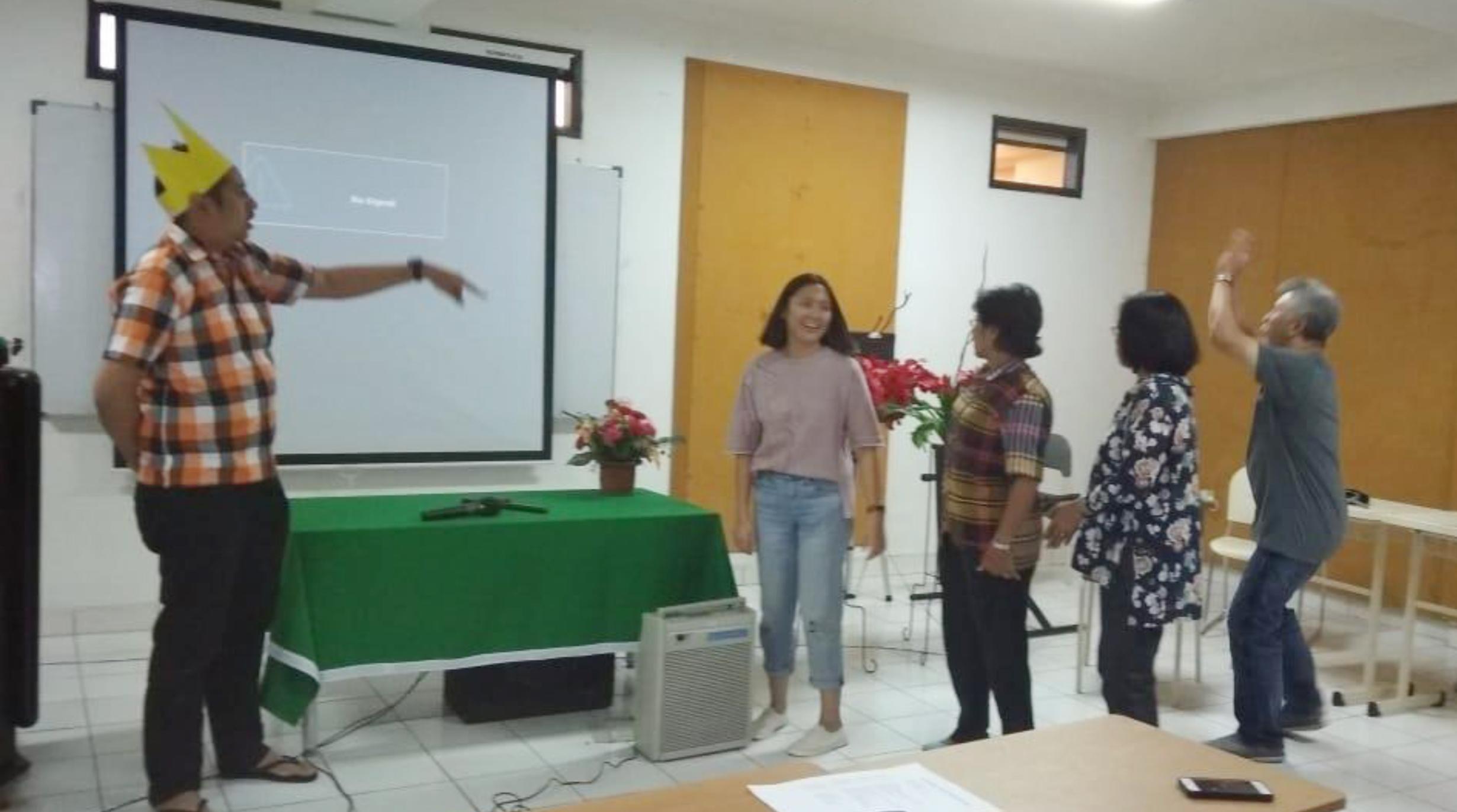 Pelatihan: Metode dan Teknik Mengajar di Sekolah Minggu, GKI Ciledug Raya