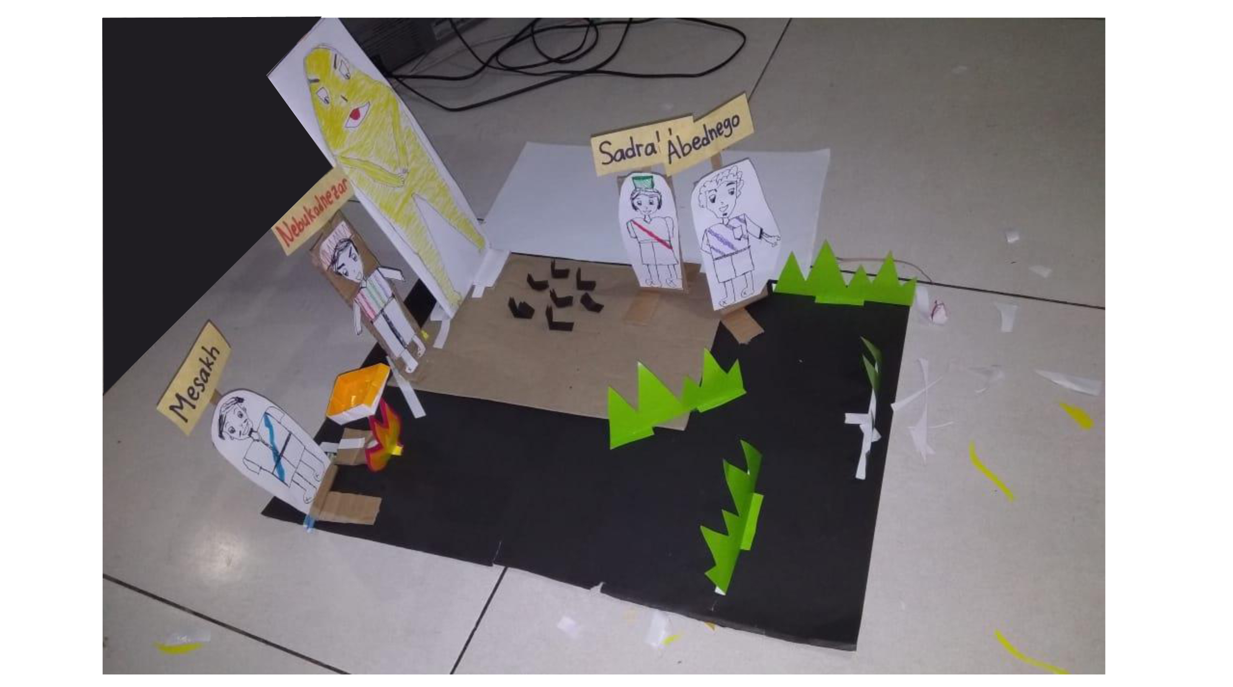 Pembinaan GSM: Bercerita dengan Kreatif dan Ceria, HKBP Pasar Rebo