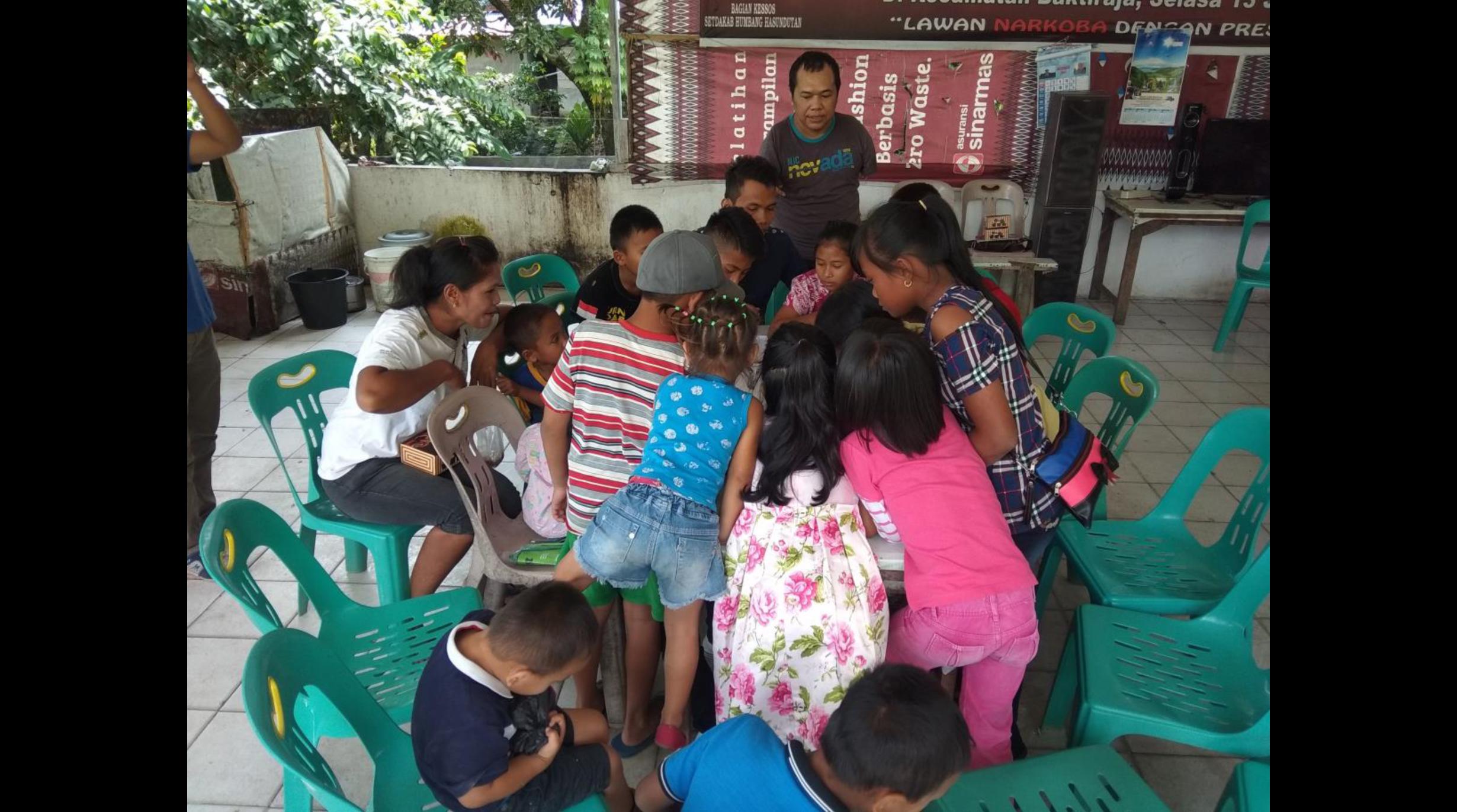 Anak Batak Ceria, Gerakan Cinta Danau Toba IV-2018, Bakkara, Sumut
