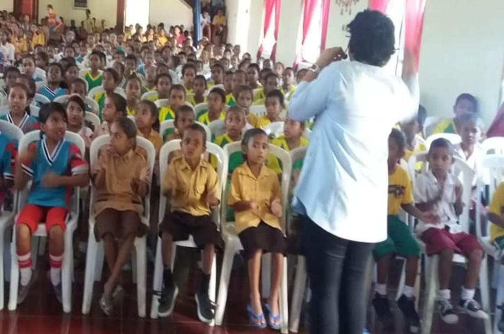 Edukasi Perilaku Positif kepada Anak, Pene Selatan, NTT