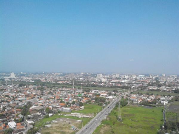 Kota Semarang view dari Menara Al-Husna